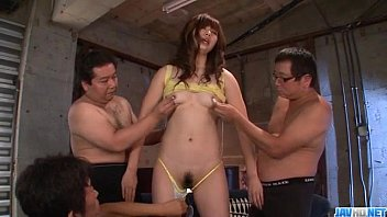 Amazing Mami Yuuki deals cocks in group action 12 min