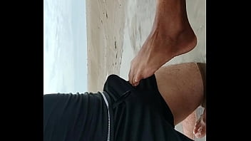 teasing on the beach. wanna see more. subscribe to new websi