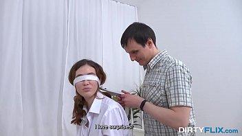 Dirty Flix - Stranger fucks blindfolded gf Gisha 10 min