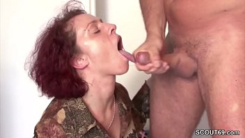 Redhead milfs seducing - Stranger seduce german redhead milf to fuck for little help