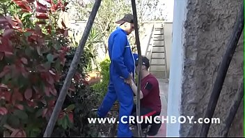 Gay worker clip - Straight worker fucked by his colleguee