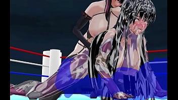 Taimanin Asagi and Sakura fucked brutally Preview