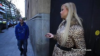 Sweet transvestite from transsexual transylvania - Massive tits tranny fucks big shaft