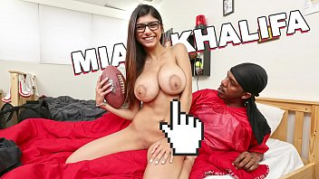 Five black dicks at once - Mia khalifa - a very sexually assertive mia khalifa gets herself some big black cock