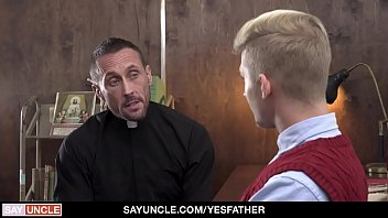 YesFather - Religious Boy Gets Hole Punished By Priest With Huge Cock