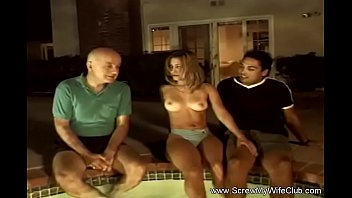 Crazy 3some At The Swinger Pool