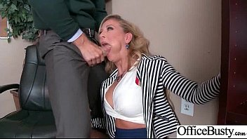 Round Big Tits Girl (Cherie Deville 001) Get Banged In Office clip-20