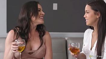 Jealous Housewife Meets Her Hubbys Lesbian Secretary 5 Min