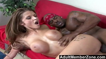 AdultMemberZone - Busty White Whore Joslyn James Craves Massive Black Dick