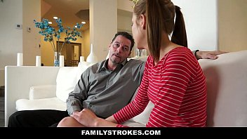 FamilyStrokes - Step-Daughter (Molly Manson) Learns To Be A Good Girl