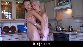 Olay anti-wrinkle mature skin Fetishist brunette licking wrinkled old man
