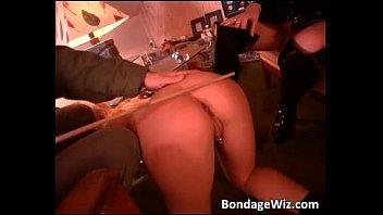 Sexy blonde slave being waxed fucked Vorschaubild