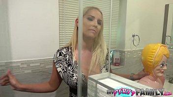 Big Titty Blonde MILF Plays Dress Up Nurse with Step-Son - Vanessa Cage - 12 min