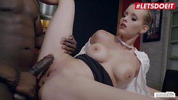 LETSDOEIT - Big Ass MILF Anike Ekina Gets Deep Pounded By Big Cock Guy In Hot Interracial Fuck