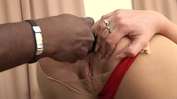 Perfect young white slut Kia Winston craves interracial black dick fucking her anus