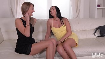 Blowjob Indulgence: See Two Babes' Epic Cum Swap After Threesome Fucking 12 min