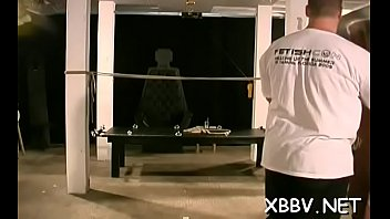 Bondage and severe torture - Yielding female endures harsh treatment in sm show