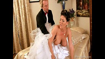 Nude clair forlani Bride to be fucking the best man