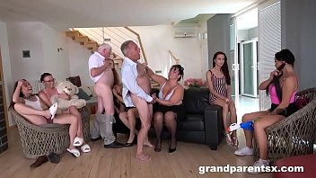 Perverted Grandparents Orgy part 1