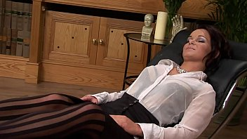 Sexy Brunette Jenny Baby Gets Hard Anal Reaming And Facial From Therapist