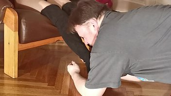 Boot socks & feet sniffing for my dominant mistress pt1 HD