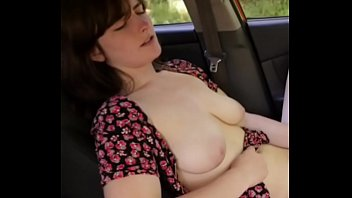 Covered breasts - Covering her breasts