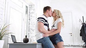 X-Sensual - Making love to nerdy blonde Stefy Shee