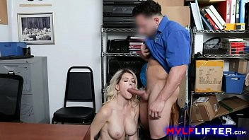 Blonde MILF Detained & Fucked As Punishment For Stealing Jewellery