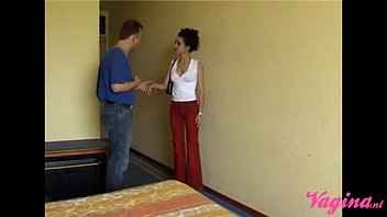 Petite arab teen is getting pounded by the dutch handyman! 23 min