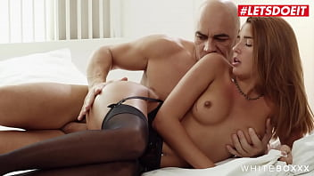 WHITE BOXXX - Agatha Vega And Christian Clay - Hot Latina Takes It Deep And Hard From Passionate Daddy