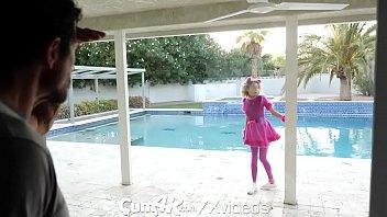 CUM4K Multiple Leaking Creampies Deep Inside Halloween Slut