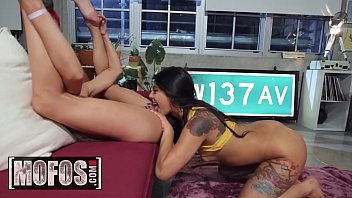 Girls Gone Pink - (Gina Valentina, Adria Rae) - Gamer Girls - MOFOS