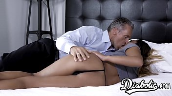 Nubile Jaye Summers seduced with stepdaddy big dick