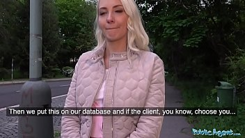 Public Agent Horny tourist Helena Moeller is hungry for Czech cock 12 min