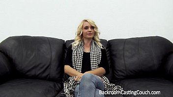 Tight Blonde Teen Anal & Creampie on Casting Couch 15 min