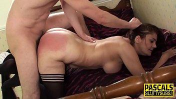 Kinky slut bdsm gagging
