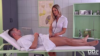 French pornstar Eva Parcker is the naughty nurse that loves her ass fucked 11 min