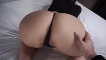 Big Tit Instagram Model ANAL REACTION.