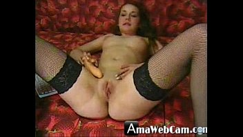 Beauty cam girl with dildo