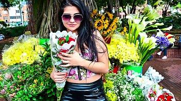 MAMACITAZ - #Leidy Silva - Voluptuous Latina Teen Banged Hard In Hot Threesome
