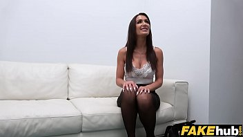 Fake Agent Princess Jas Gets her pussy slammed in a casting thumbnail