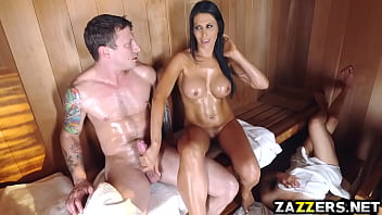 Pissed off pete Makayla cox fuck doggystyle by pete pounding her pussy