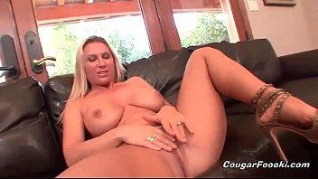 Devon sucking cock Big boobed blonde gets fucked hard