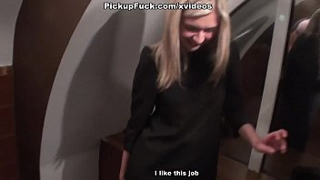 blonde in stockings fucked in the toilet Vorschaubild