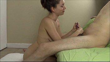 Lelu Love Sucks and Strokes A Big Hard Cock For A Facial