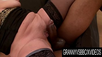 Woman enjoying her pussy licked Granny vs bbc - short haired grandma dd enjoys her lovers thick dark dong