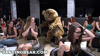 Stripper in action Dancing bear - all these hoes be drippin when the big dicks come out to play
