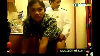 เรื่องอื้อฉาว - นักบินกับแอร์โฮสเตสสาวของสายการบินไทย มีเซ็กส์กัน !!