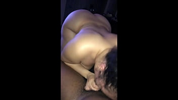 Big Booty Latina Sucking and Bouncing on Black Dick