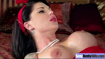 Home Made Porn With Busty Horny Sexy Wife clip-11